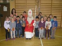 Der Hl. Nikolaus besuchte unsere Schule auch in diesem Jahr wieder