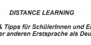 DISTANCE LEARNING für alle